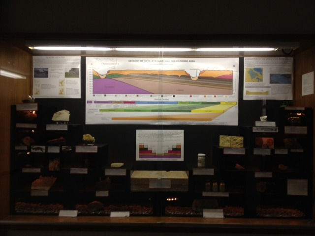 Chester Johnson Geology Museum Exhibit