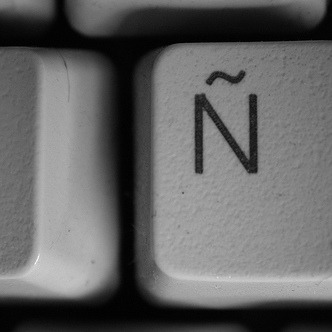 n key with accent