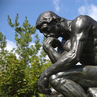 Rodin's Thinker Statue