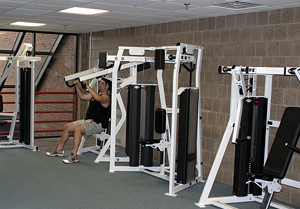 machine for athletic rooms