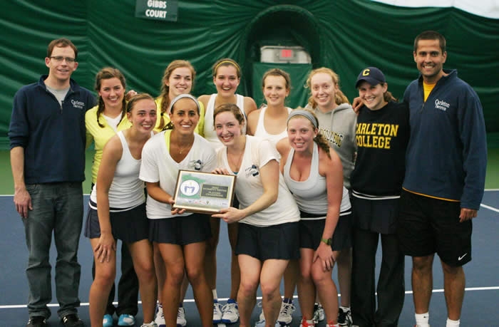 2012 MIAC Women's Tennis Playoff Champs