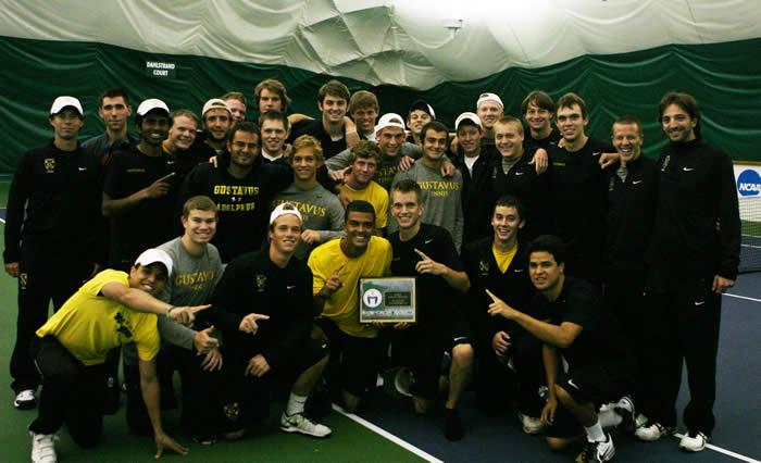 MIAC Men's Tennis Playoff Champs