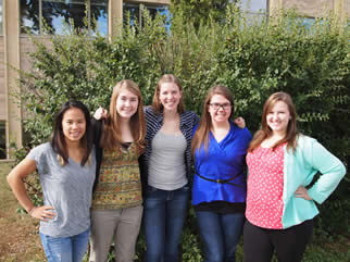 Gustavus Chem Club Officers 2013-14 AY