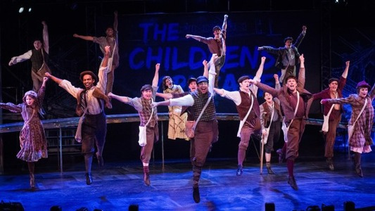 Newsies at Chanhassen