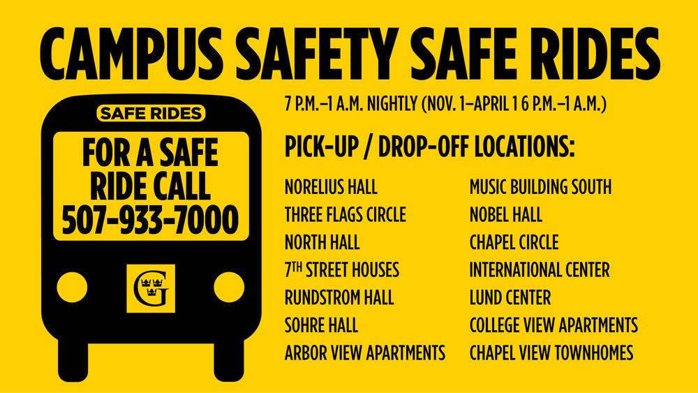 Safe Rides Slide