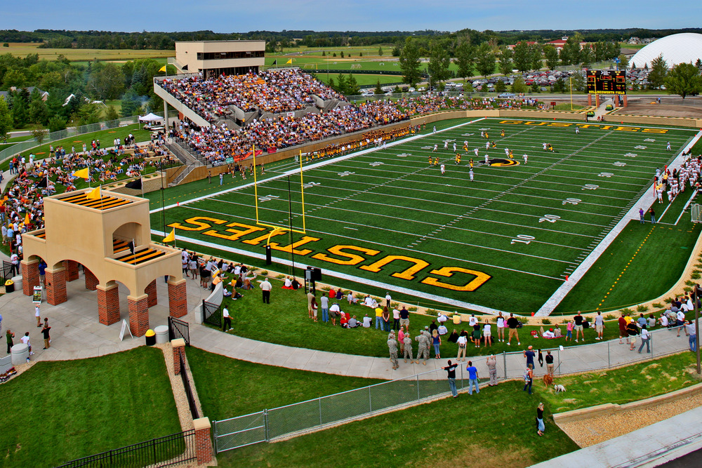 football stadium west of lund center athletic facilities