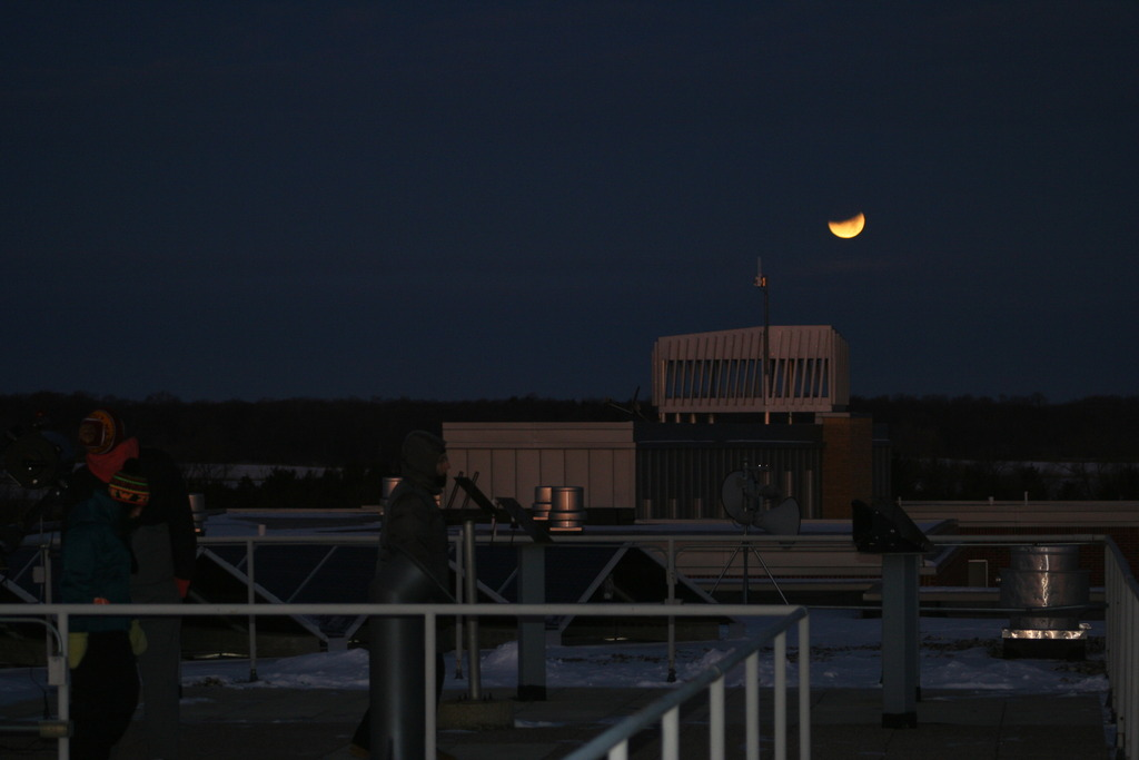 Moon Over Olin