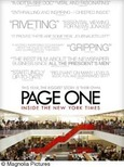 Page One promotional poster