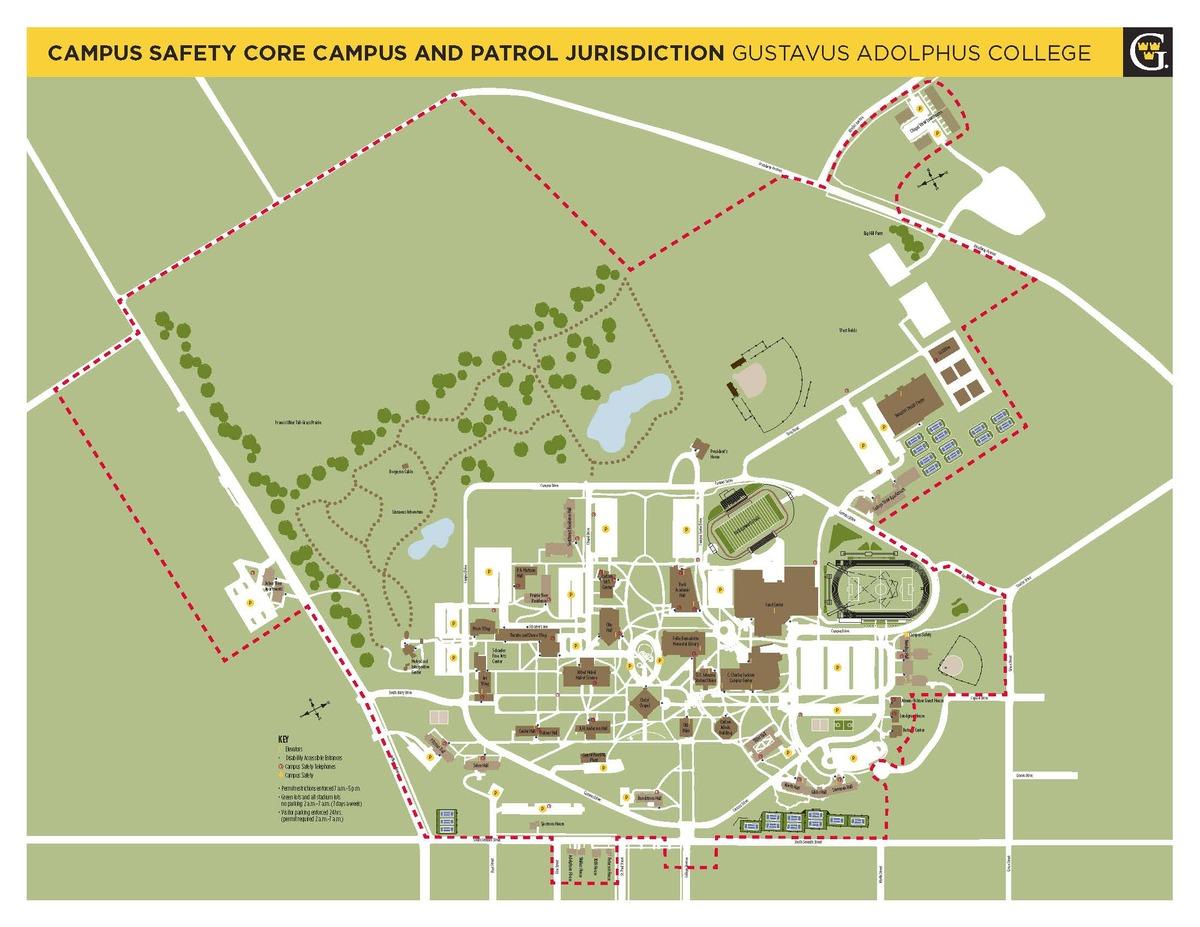 Core Campus and Patrol Jurisdiction