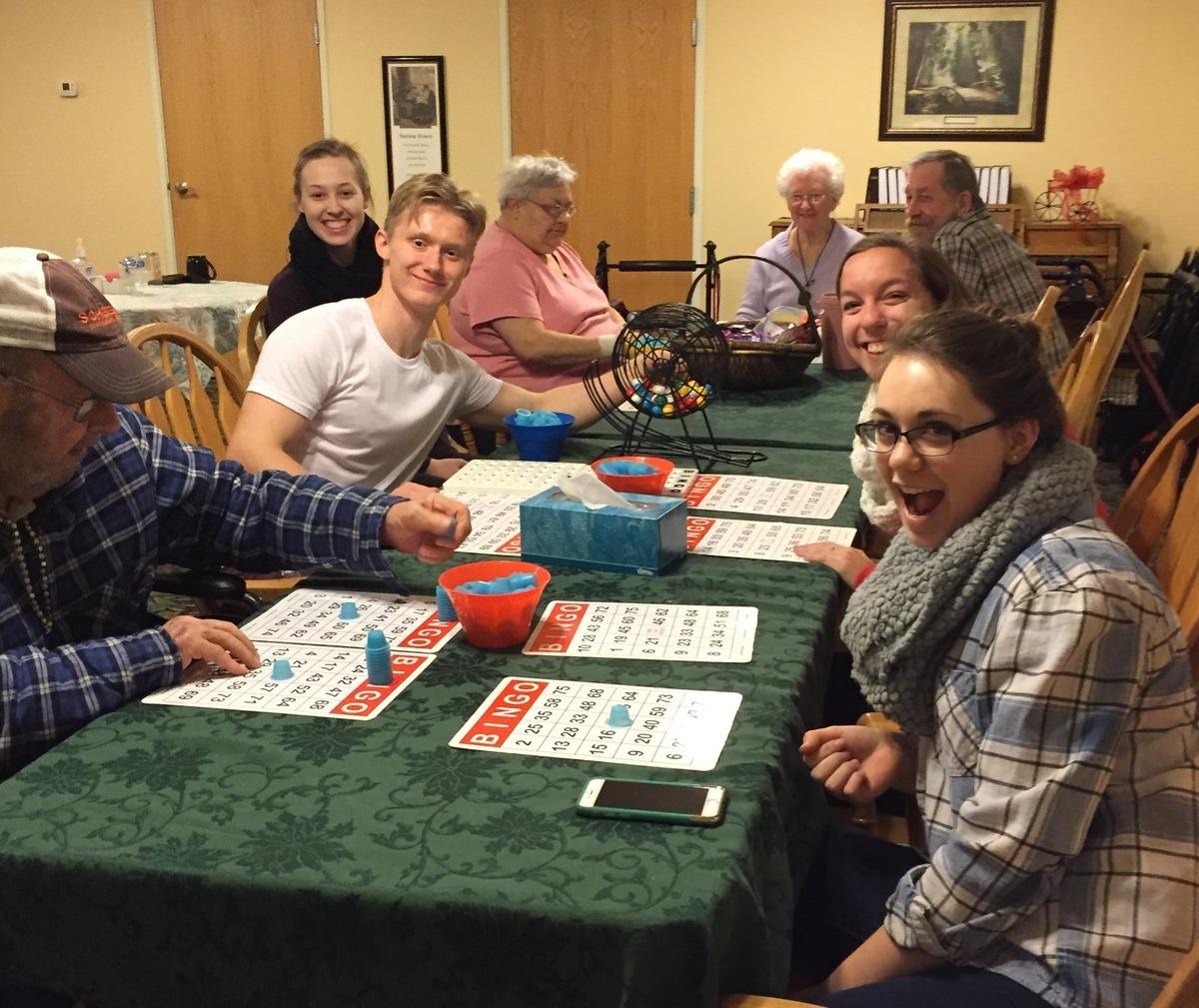 Elders bingo night