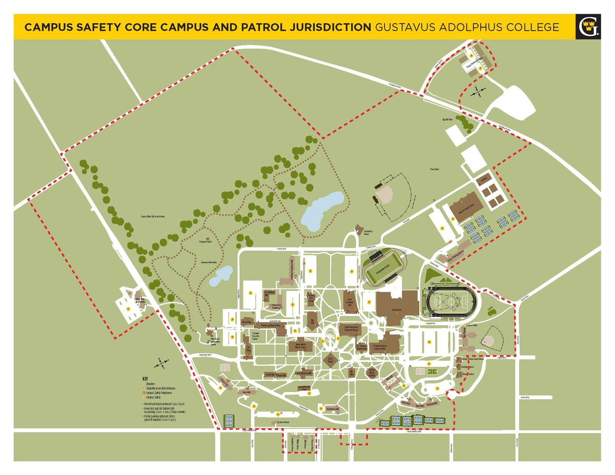 Campus Map Tobacco Free Tobacco Free