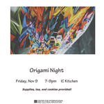 Photo gallery image named: origami-night-flyer.png