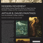 Photo gallery image named: arthur-bowen-davies-exhibits-poster.jpg