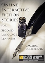 Poster for Interactive Fiction Stories