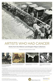 Artists Who Had Cancer Poster