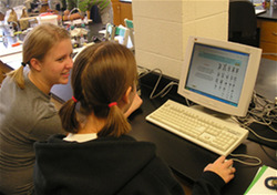 Students Participating in Research