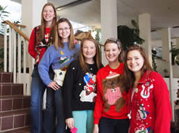 Ugly Sweater Contestants