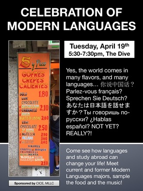 Celebration of modern languages