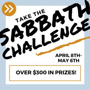 Sabbath Challenge begins April 8th