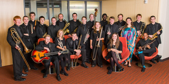 Gustavus Jazz Lab Band 2014-15