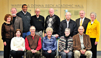 Beck Hall Donors