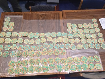 Periodic Table Cookies 2015