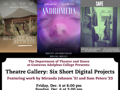 Theatre Gallery: Six Short Digital Projects