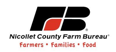 Nicollet County Farm Bureau logo