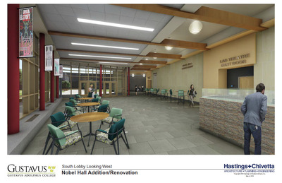 Lab Theatre Lobby Rendering
