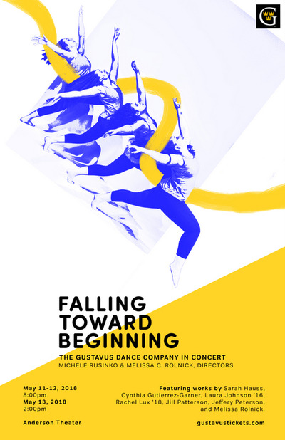 Falling Toward Beginning Poster