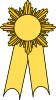 Image of Yellow Best of Show Ribbon