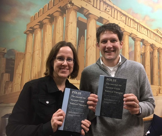 Mimi Gerstbauer and Eric Dugdale