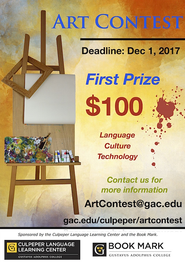 Art Contest 2017 Flier