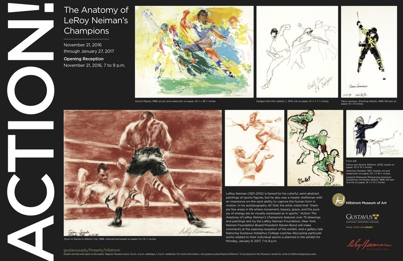 Action The Anatomy Of Leroy Neimans Champions On View At The