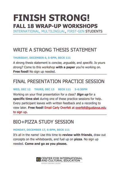 finish strong workshop write a strong thesis statement  december   december   at    pm  h