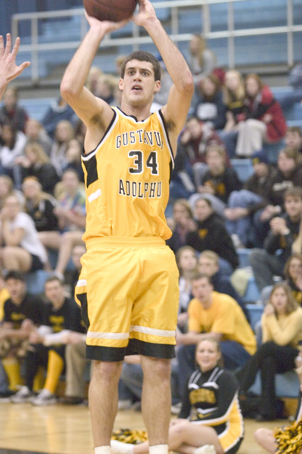 TeBrake drains another jumper for the Gusties.