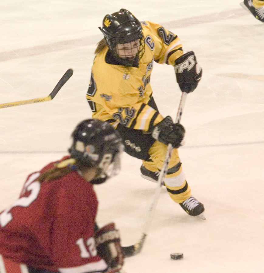 Captain Abby Randall scored one goal in the 6-0 win.