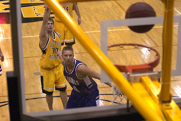 Andrew Olson led the Gusties with a career high 27 points.