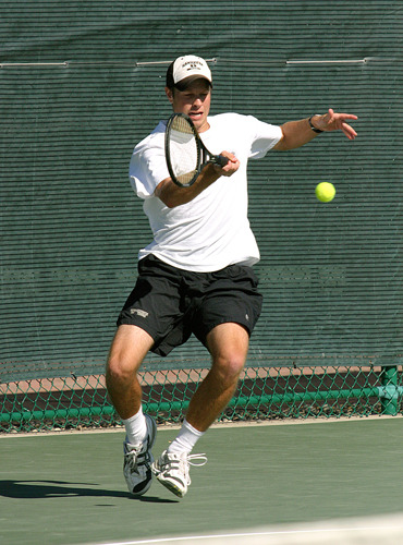Gustavus senior Ben Lundell is ranked #10 in Division III in singles.