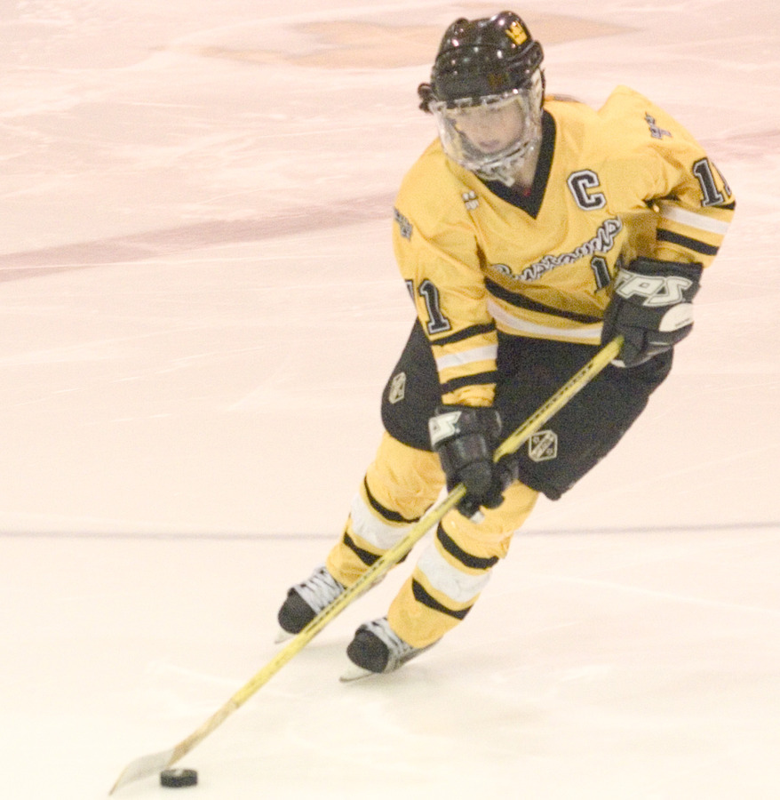 Laura Stypulkowski recorded two goals for the Gusties on Friday night.