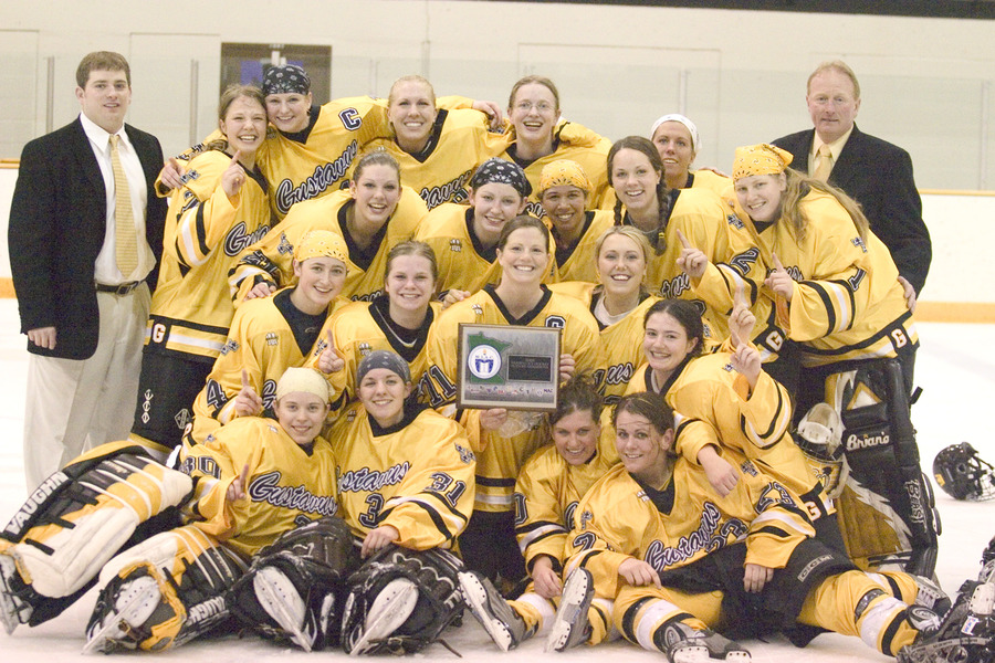 2005 Gustavus women's hockey team