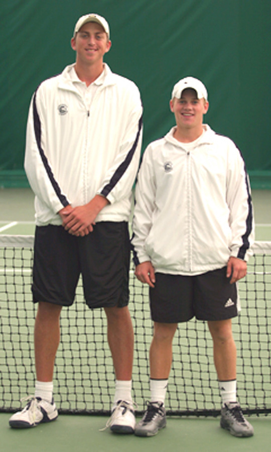 Three-time ITA Midwest Region doubles champions Brett Morse-Karzen and Adam Morgan