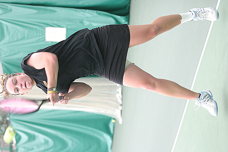 Houlihan won the NCAA Division III doubles title in 2005 with partner Lyndsey Palen.