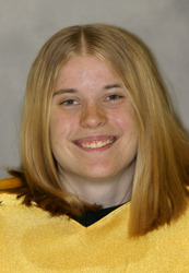 Kitty Hurley made 19 saves in the nets.