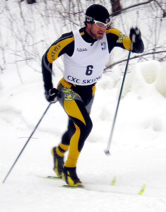 Senior Erich Ziegler led the Gusties with top-16 finishes among collegiate racers in both the classic and freestyle races.