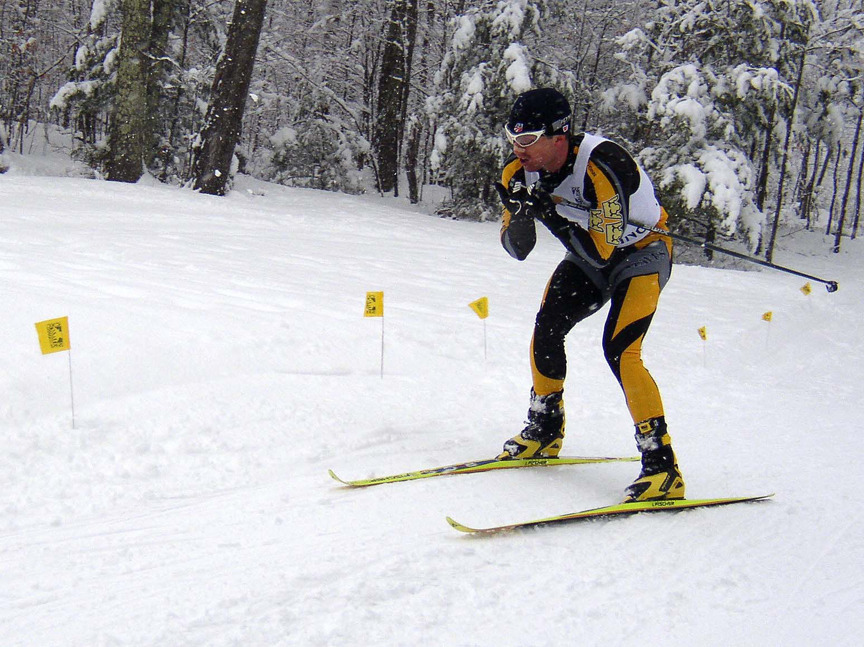 Senior Erich Ziegler picked up the first regional win for a Gustavus Nordic skier.
