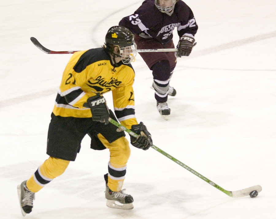 Mike Hosfield led the Gusties with two goals and an assist Friday night.