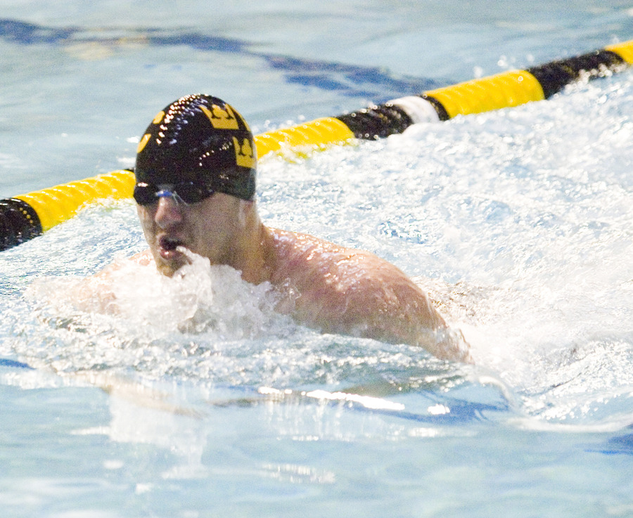 Gustavus broke three school records and three championship meet records on the final day of the MIAC Championships.