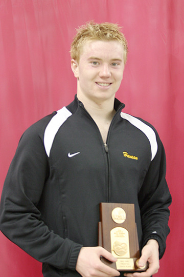 Sophomore Ben Hanson was the lone Gustie to earn All-America honors, placing eighth in the 1650 freestyle.
