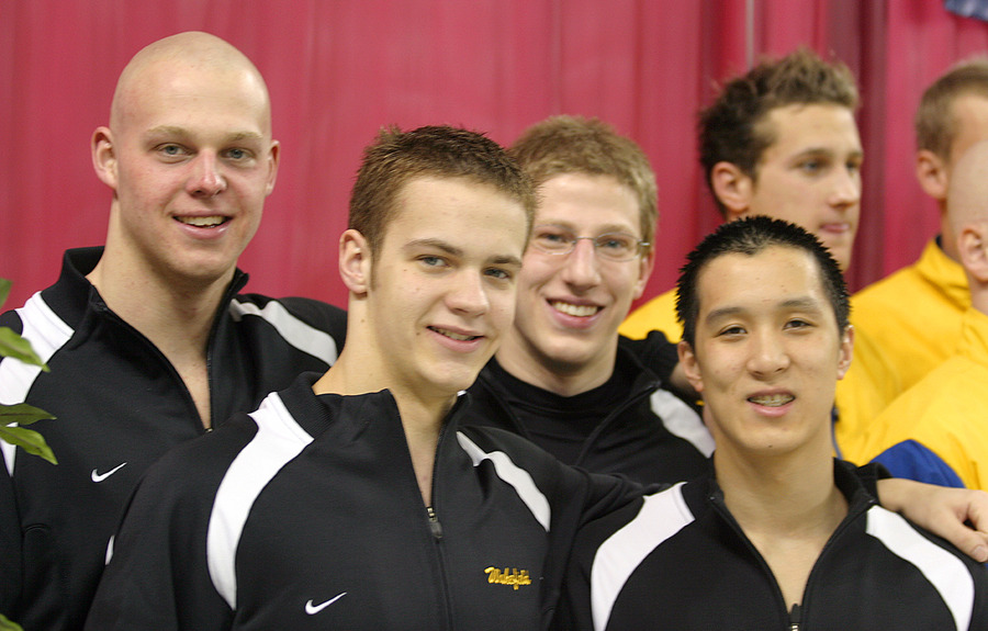 The 200 freestyle relay of Amundson, Wakefield, Amundson and Auyeung placed eighth at the 2006 NCAA Championships.